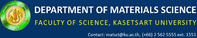 DEPARTMENT OF MATERIALS SCIENCE